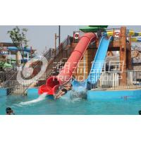 Wholesale Adult Water Plastic Fiberglass Water Slide 120 m³ / h for Adventure Water Parks from china suppliers