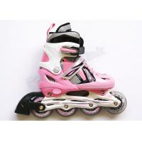 Wholesale Fun Skating Shoes Girls Adjustable Roller Skates Four Wheel with Mesh + EVA Inner from china suppliers