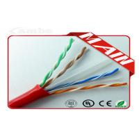 Wholesale LSHF - FR 1000 Ft Cat6 Ethernet Cable For ATM 155 Mbps / Gigabit Ethernet from china suppliers