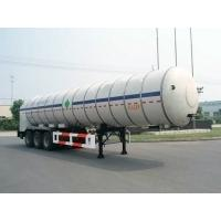 Wholesale 27000L-3 Axles-Cryogenic Liquid Lorry Tanker for Liquid Carbon Dioxide from china suppliers