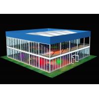 Wholesale Business Square Shape Two Storey Temporary Storage Shed For Conference from china suppliers