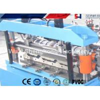 Quality Double Layer Colored Steel Roof Roll Forming Machine With Uncoiling SGS Approved for sale
