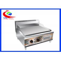 Wholesale stainless steel counter top plate electric griddle grill machine from china suppliers