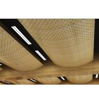 Wholesale MDF Carved Acoustical Wood Ceiling Panels For Shopping Center from china suppliers