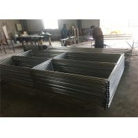 """Wholesale 8'x12' steel construction fence panels mesh spacing 2½""""x2½""""(63mmx63mm) x 12.5ga diameter tubing  1⅗""""(40mm) 1⅝""""(42mm) 1⅞"""" from china suppliers"""