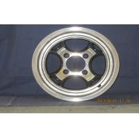 Wholesale Black 5 Hole 12 / 14 Inch Alloy Wheels 10 ET , Car Wheel Rim KIN-839 from china suppliers