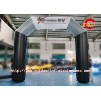 Wholesale Customized Football Theme Inflatable Arch , PVC Inflatable Rainbow Arch For Advertising from china suppliers