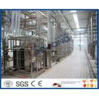 Wholesale Multifunctional Milk Production Machinery For Pasteurized UHT Milk / Cream / Butter from china suppliers
