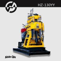 Wholesale HZ-130YY india small water well drilling rig, trailer mounted ground water drilling machin from china suppliers