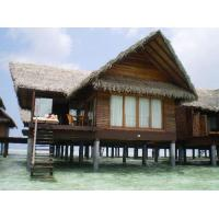 Wholesale Overwater Bungalow / Prefab House For Resort Water Bungalow from china suppliers