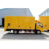 Wholesale DC24V Electrical Starting Truck Mounted Generator Sets 250kW 9100 * 2500 * 3500mm from china suppliers