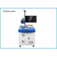 Wholesale 10w 30w Floor Stand Carbon Steel Metal Laser Marking Machine 8000mm/S from china suppliers