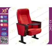 Wholesale Special Design Iron Leg Auditorium Theatre Chair With Aluminum Alloy ABS Folding Table from china suppliers