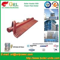 Wholesale Power Plant CFB Boiler Header / Boiler Low Loss Header High Temperature from china suppliers