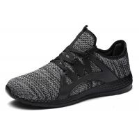 China Slip On Flyknit Casual Sports Shoes Lightweight Comfortable For Spring / Summer for sale
