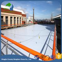 Wholesale ISO9001 Cerfificate Hdpe Synthetic Ice Rink Panel 20mm Thickness Dovetail Connection Manufacturer Price from china suppliers