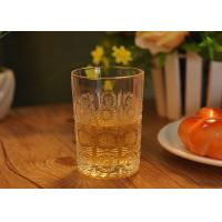 Wholesale Sun Flower Design Water Glass Tumbler for Juice , small whiskey glass from china suppliers