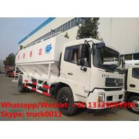 Wholesale Euro Ⅴ 10tons China dongfeng brand poultry feed transportion truck for sale, Factory sale good price bulk feed truck from china suppliers