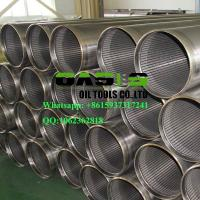 Buy cheap AISI SS304L Thread Coupling Wire Wrapped Johnson Type Well Screens China manufacturer from wholesalers