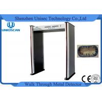 Wholesale Remote Control Walk Through Metal Detector 6 Zone With CE / ISO9001 from china suppliers
