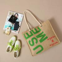Wholesale Shoulder Tote bag carrier Jute bag Handbag satchel shopper Traveling Shopping Diaper bag from china suppliers