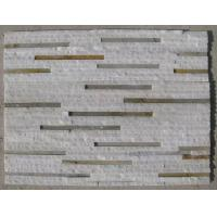 Wholesale White Quartzite Rusty Slate Waterfall Shape Culture Stone,Natural Retaining Wall Stone Panel from china suppliers
