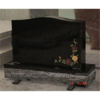 Wholesale China Shanxi Black Upright Headstone from china suppliers