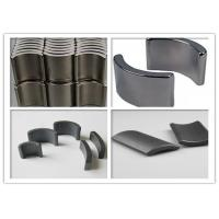 Wholesale Y35 Car Horn Ferrite Segment Magnets Arc High Strength SGS Certification from china suppliers