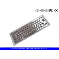 Wholesale Dust-Proof Industrial Mini Keyboard Customizable With 64 Full Travel Metal Keys from china suppliers