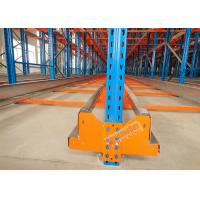 Quality High Density Storage Racks Radio Shuttle Racking Adjustable Baseplate Type 50 Meters Per Min for sale