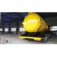 Quality SINOTRUK 6M3 290hp Sewage Suction Truck Septic Tank Pumping Truck EURO II Emission with 12.00R20 model Radial Tire for sale