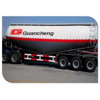 Wholesale V Shape 40cbm Bulk Cement Semi Trailer 3 Axle With Q345 High Tensile Manganese Steel Chassis from china suppliers
