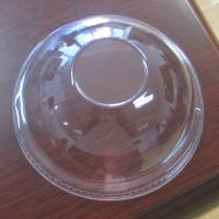 Wholesale Dome Disposable Cup Lids Clear For Milk , 95mm Cups Cover PP 4.0cm from china suppliers