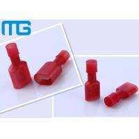 Wholesale MDFN2 - 250 Brass Solderless Terminal Connectors Full Vinyl Insulated Nylon from china suppliers