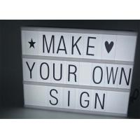 Wholesale Rectangle Shape LED Customisable Cinematic Lightbox For Christmas Decoration from china suppliers