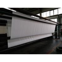 Wholesale Hot Rolled Staple Fiber Non Woven Geotextile Fabric , Width 8m from china suppliers