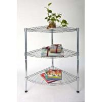 Wholesale Wall Or Corner Home Storage Racks Iron Tube Metal Shelf Rack from china suppliers