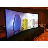 Wholesale P6 Full Color Hanging LED Display Indoor With Die Cast Aluminum Cabinet , 2500nits Brightness from china suppliers