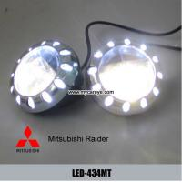 Wholesale Mitsubishi Raider classic car fog light upgrade with daytime running light DRL from china suppliers