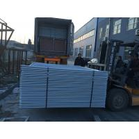 Wholesale URANGAN temp site fencing building site fencing OD 40mm heavy duty temp site fencing for sale 2100mm x 2500mm from china suppliers