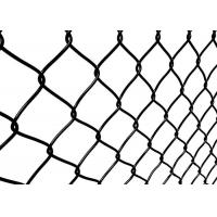 China 3.0mm Diameter Wire Mesh Garden Fence , Chain Link Fence Mesh 1m-3.6m Height on sale