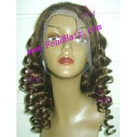 Wholesale 100% Virgin Remy Hair Full Lace Wig from china suppliers