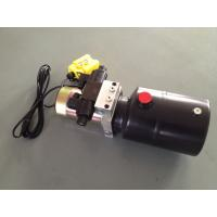 Quality DC 12V 1.6KW  Work Pressure 18Mpa with Round Steel Tank Mini Hydraulic Power Packs for Fork-lifts for sale