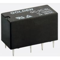 Buy cheap Blue / Black High Frequency Relay GC 1A 12V 1A/250VDC 0.15W 12-48VDC DPDT -40~85C from wholesalers