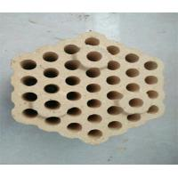 Wholesale 12 Holes Checker Fire Clay Bricks , Lattice Insulating Fire Brick For Hot Blast Stove from china suppliers