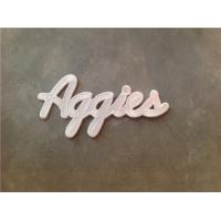 Wholesale Aggies Texas A&M Aggies Wordmark Script Logo Patch Iron On from china suppliers