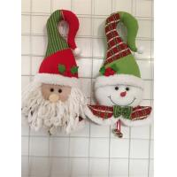 Wholesale soft plush elf head christmas door hanger christmas hanging elf from china suppliers