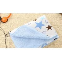 Wholesale Flame Retardant Waterproof Printed Knitted Polyester Baby Blanket Baby Swaddler Blanket from china suppliers