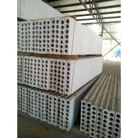 Wholesale MgO / Mgcl2 / Fiber Precast Hollow Core Wall Panels Partition Wall Board from china suppliers