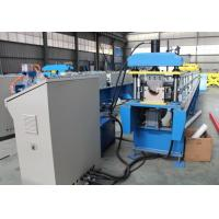 Wholesale Steel Round Profile Rain Water Gutter Sheet Roll Forming Machine with Auto Cutter and Metal Rollformer from china suppliers